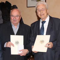 Manfred Schreiner und Jürgen Harries erhielten Bundesverdienstmedaille