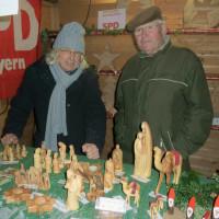 SPD Rückersdorf am Rückersdorfer Adventsmarkt 2017