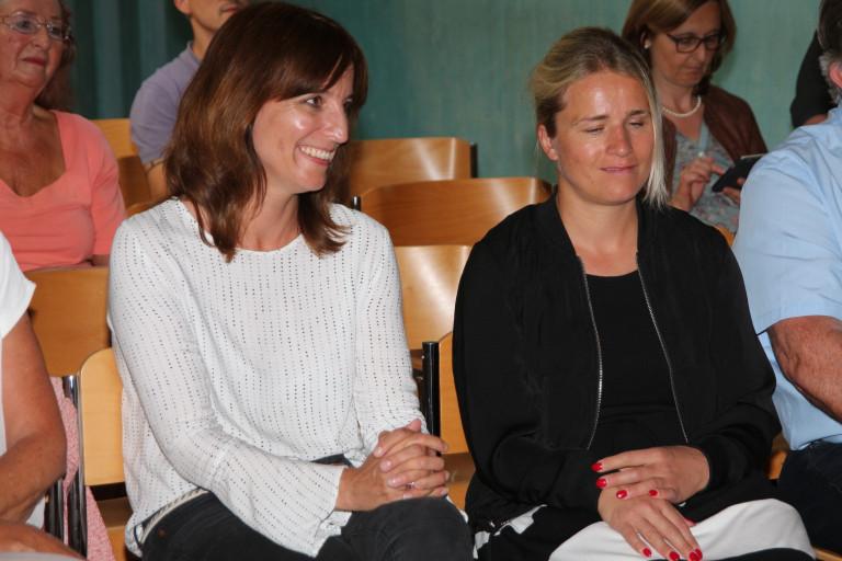Kerstin Gardill mit Verena Bentele